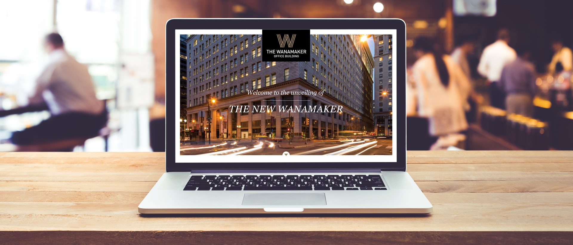 Online Marketing for Wanamaker - Event Landing Page