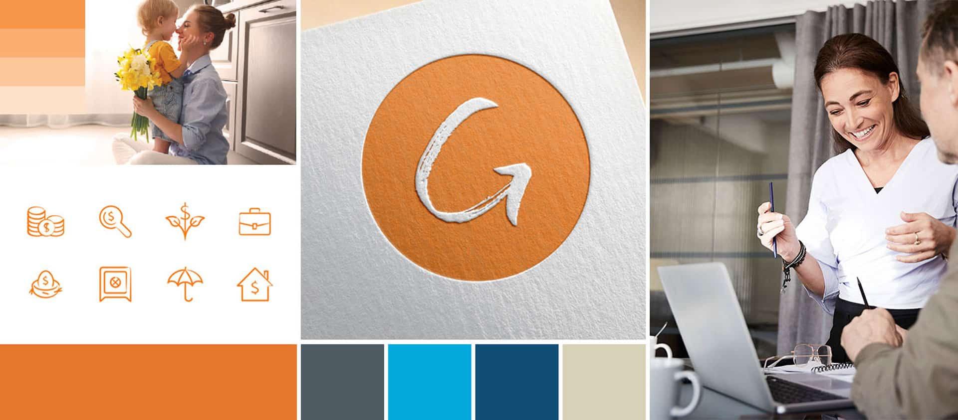 Brand Identity and Logo Design for Girard Wealth Advisors