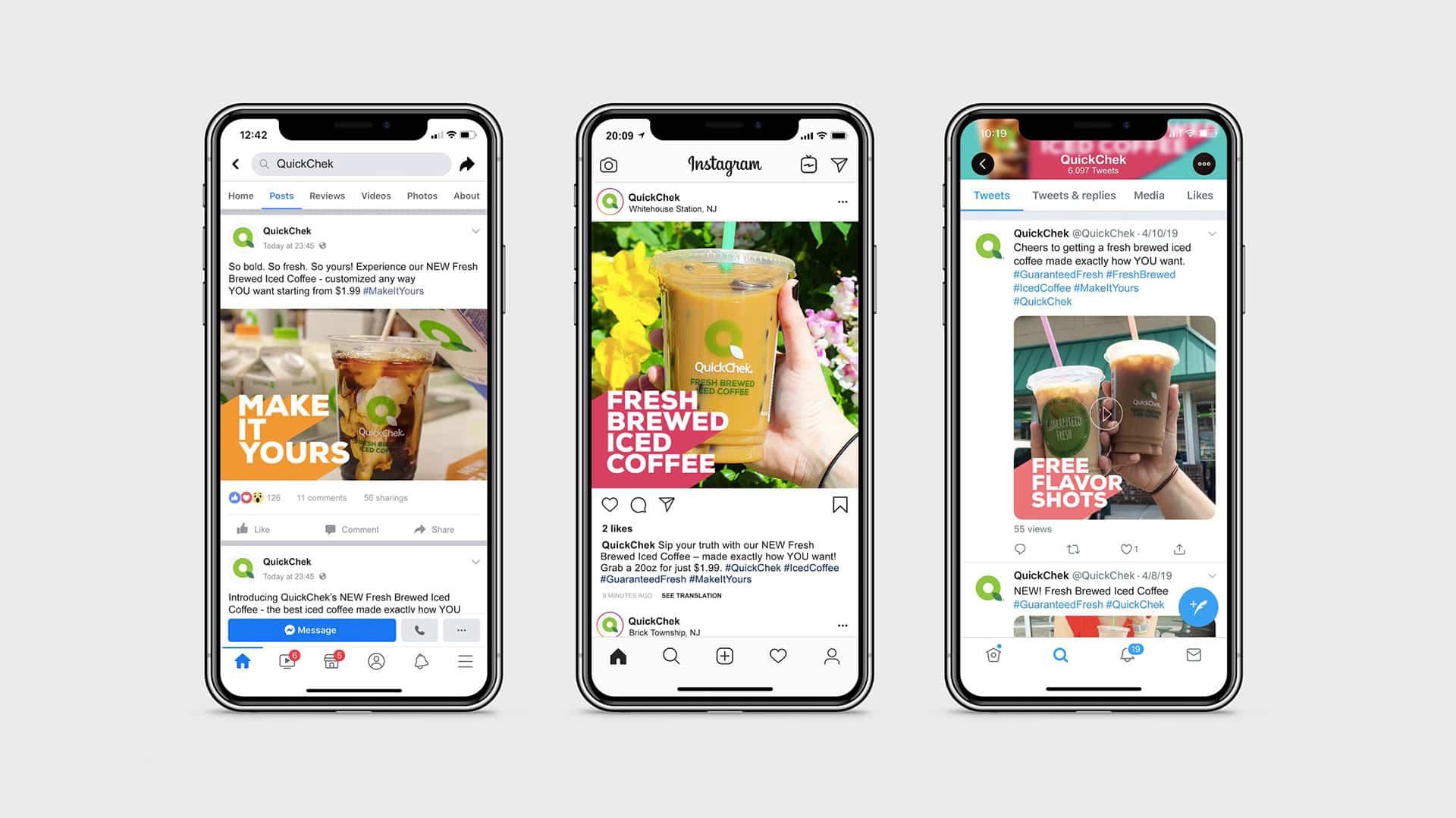 QuickChek Convenience Social Media Marketing