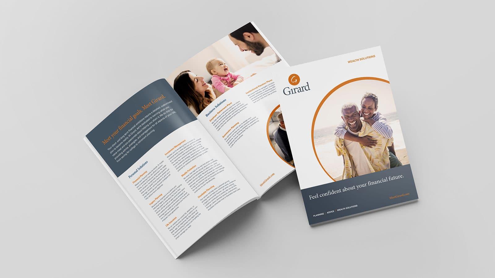 Finance Industry Editorial Design