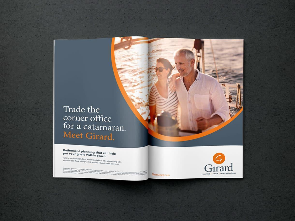 Graphic Design for Girard Wealth Management