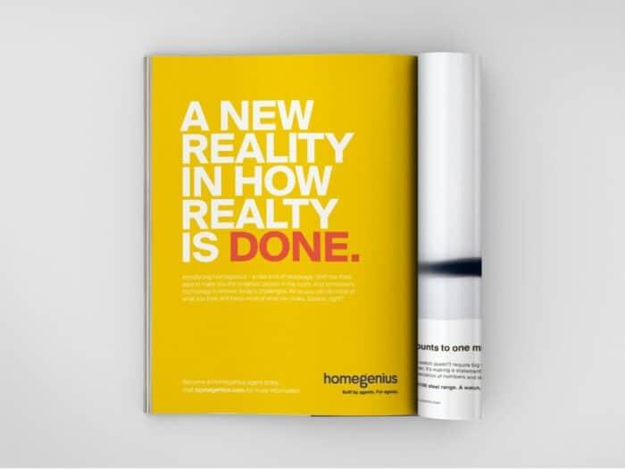Real Estate Print Advertising