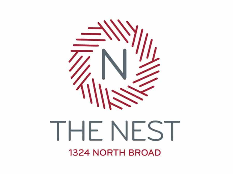 The Nest at 1324 North Broad Logo Design