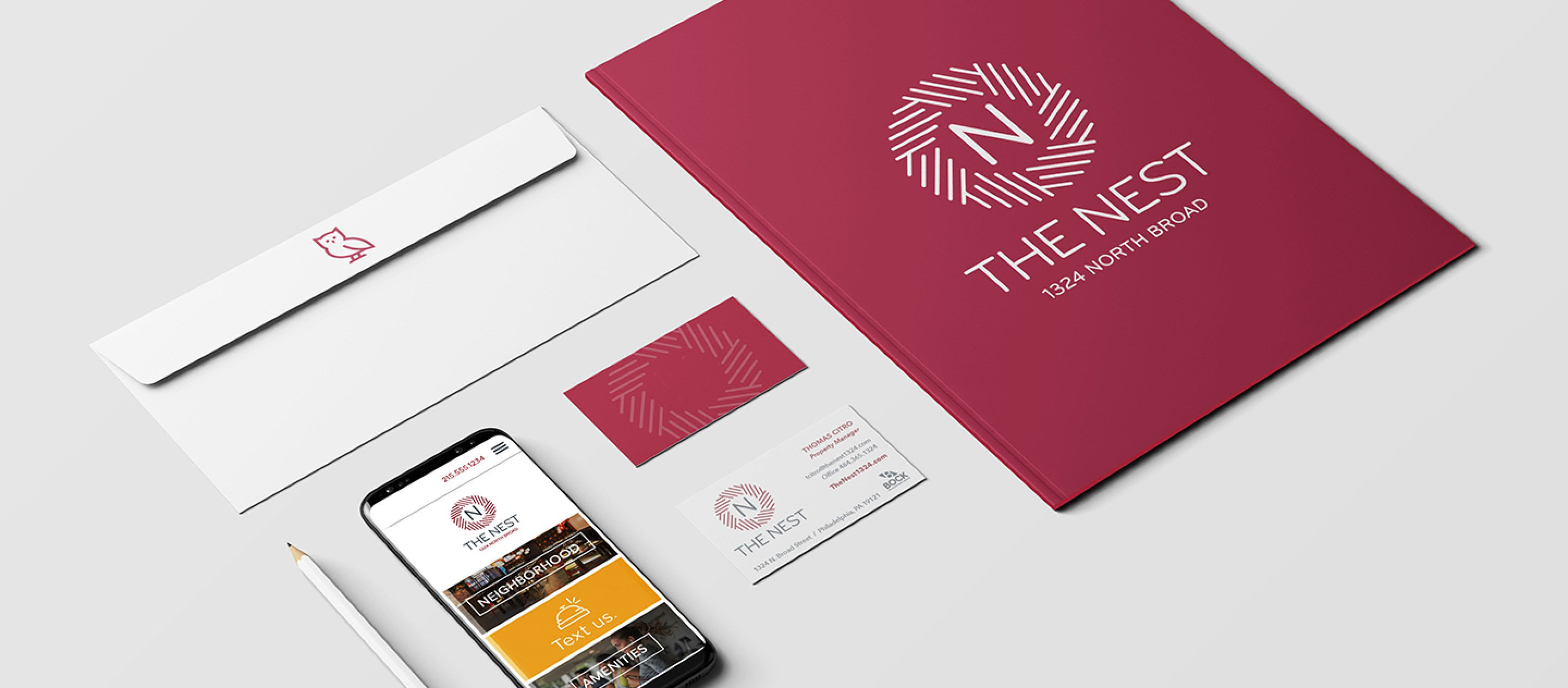 Stationery Graphic Design in Education