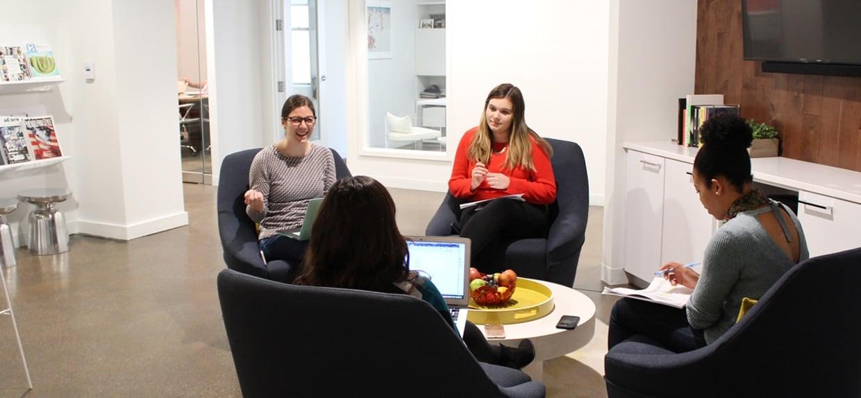 Creative Agency Meeting at Munroe in Philadelphia