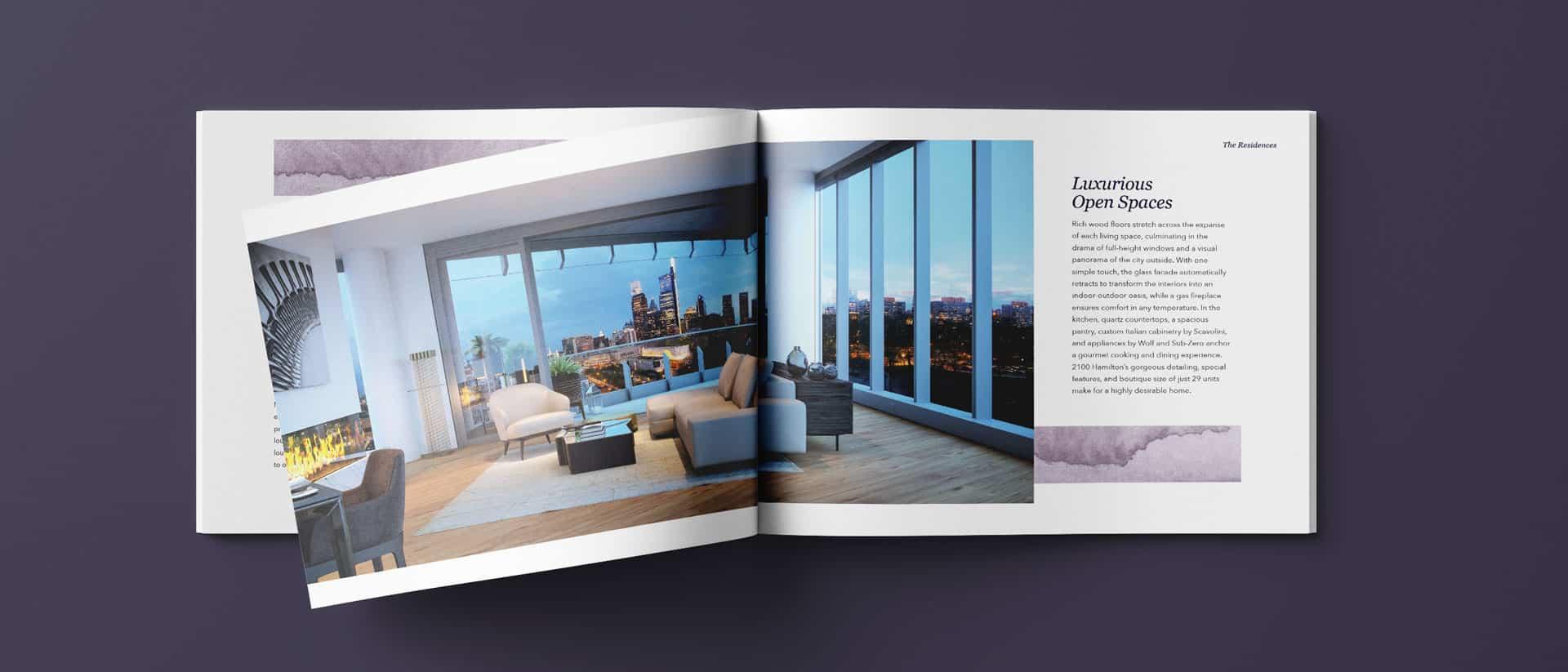 Brochure Design and Marketing for 2100 Hamilton