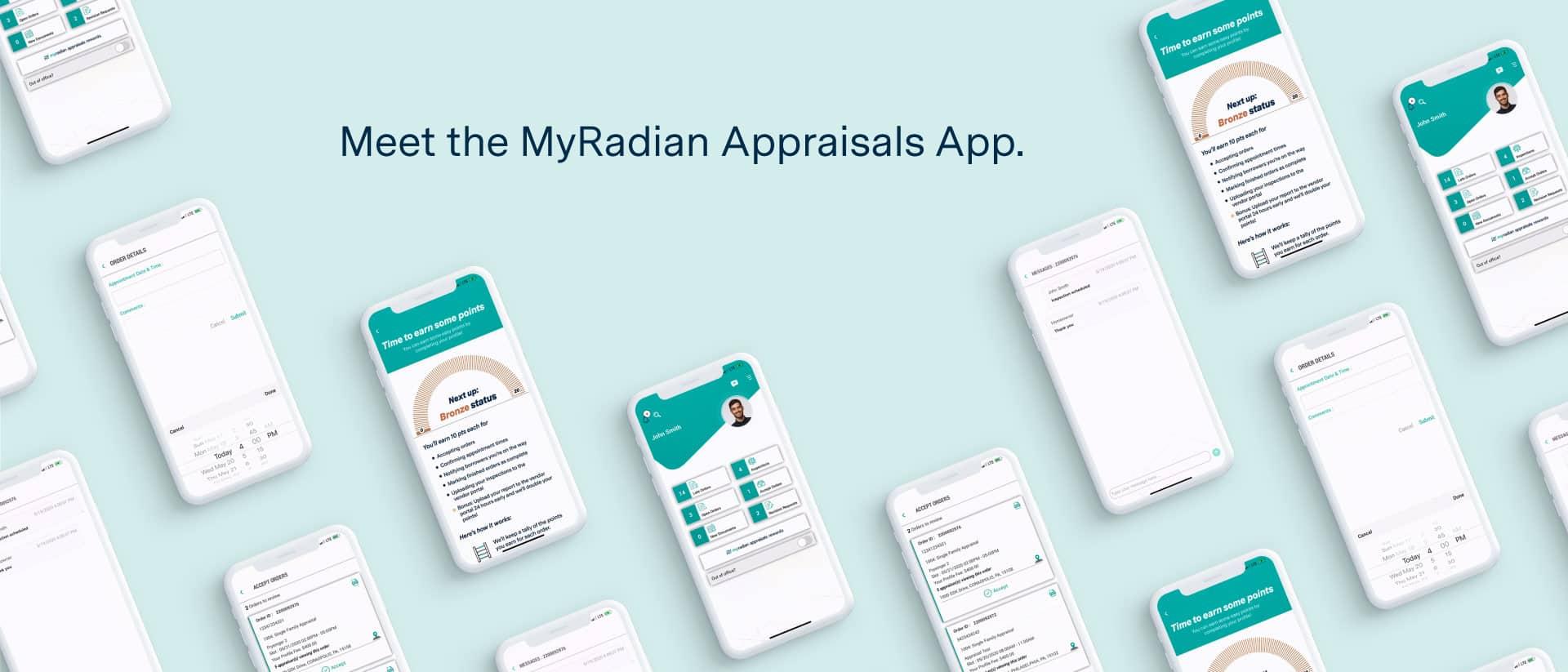 Digital App Design for Radian