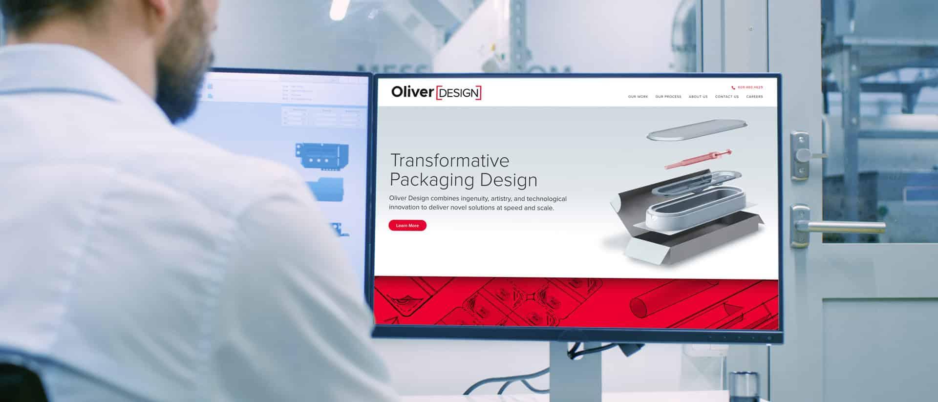 Wordpress Web Design for Oliver Design