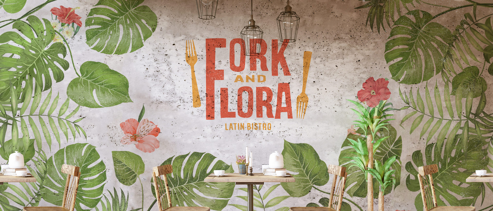 logo design for Fork and FLora