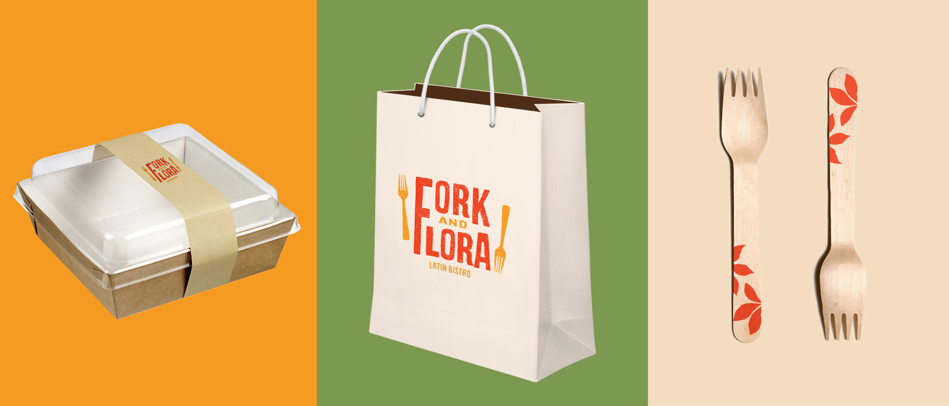 Brand Identity for Fork and Flora Restaurant