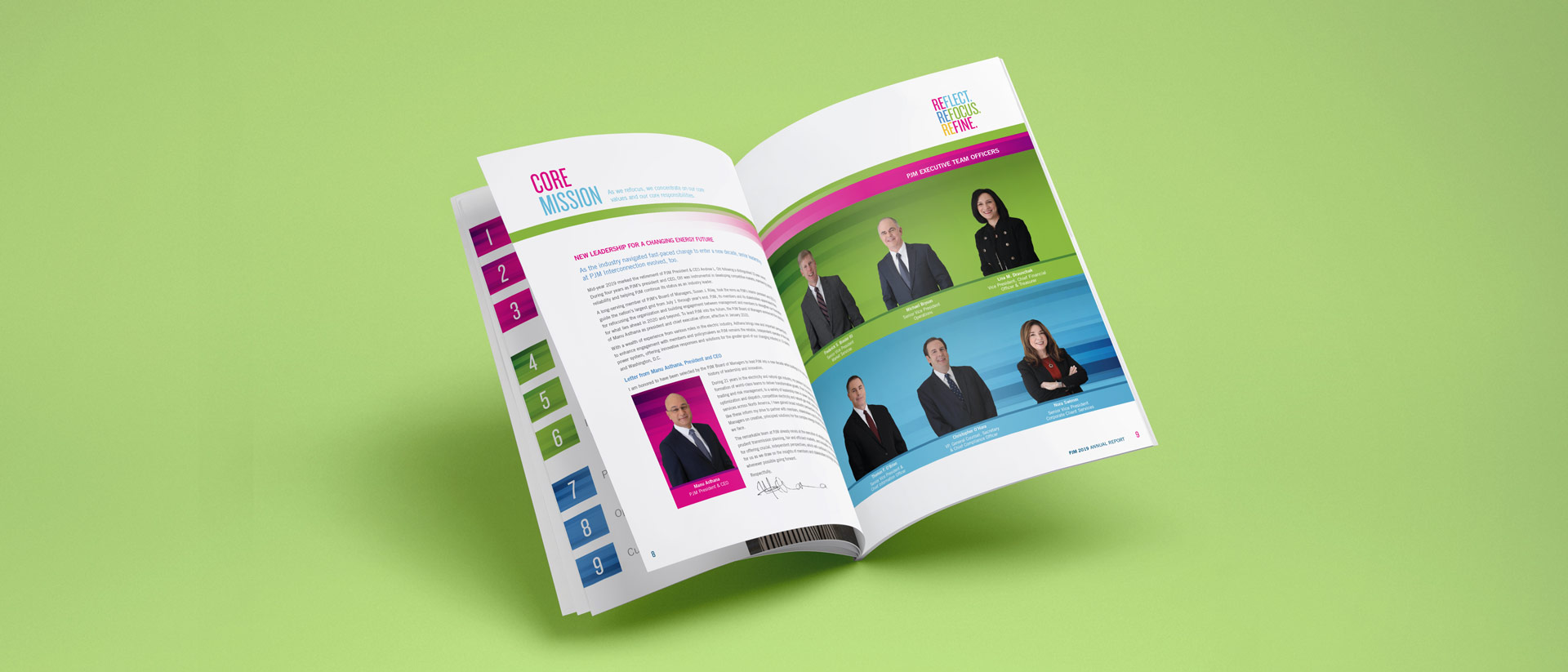 Annual Report Design for PJM