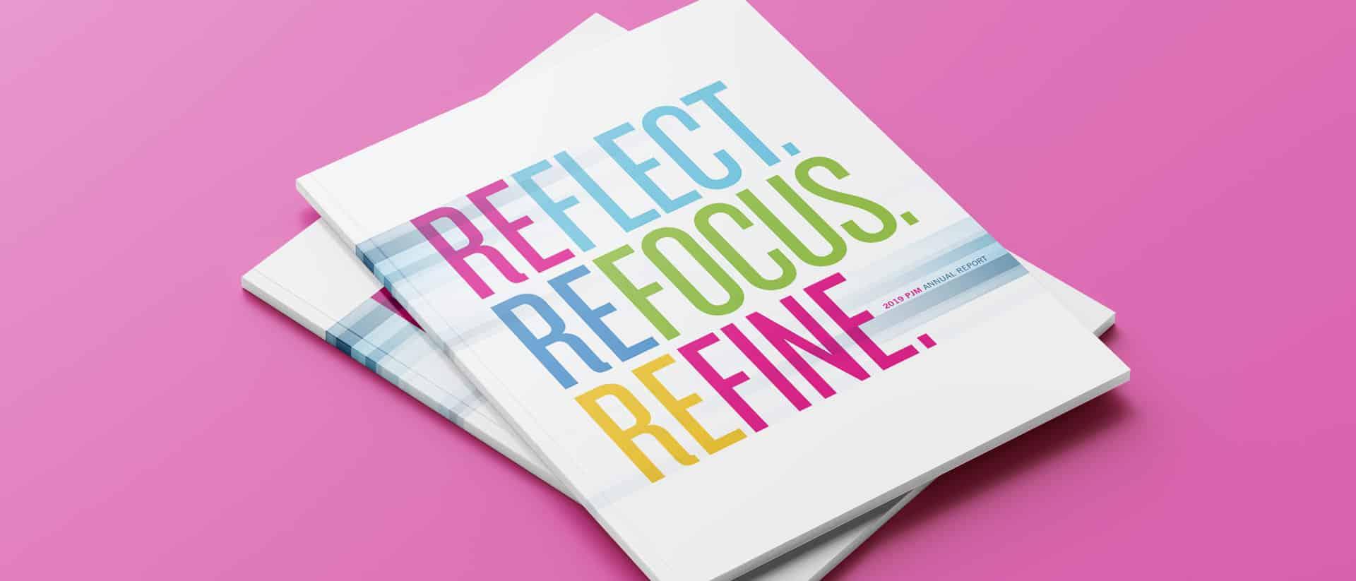 Brochure Design for PJM Annual Report