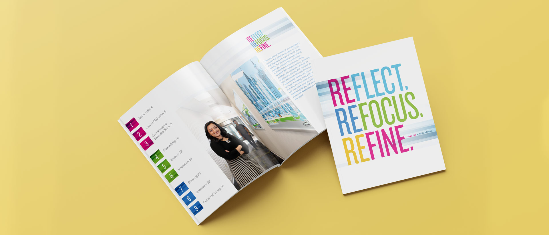 Marketing Collateral for PJM Annual Report