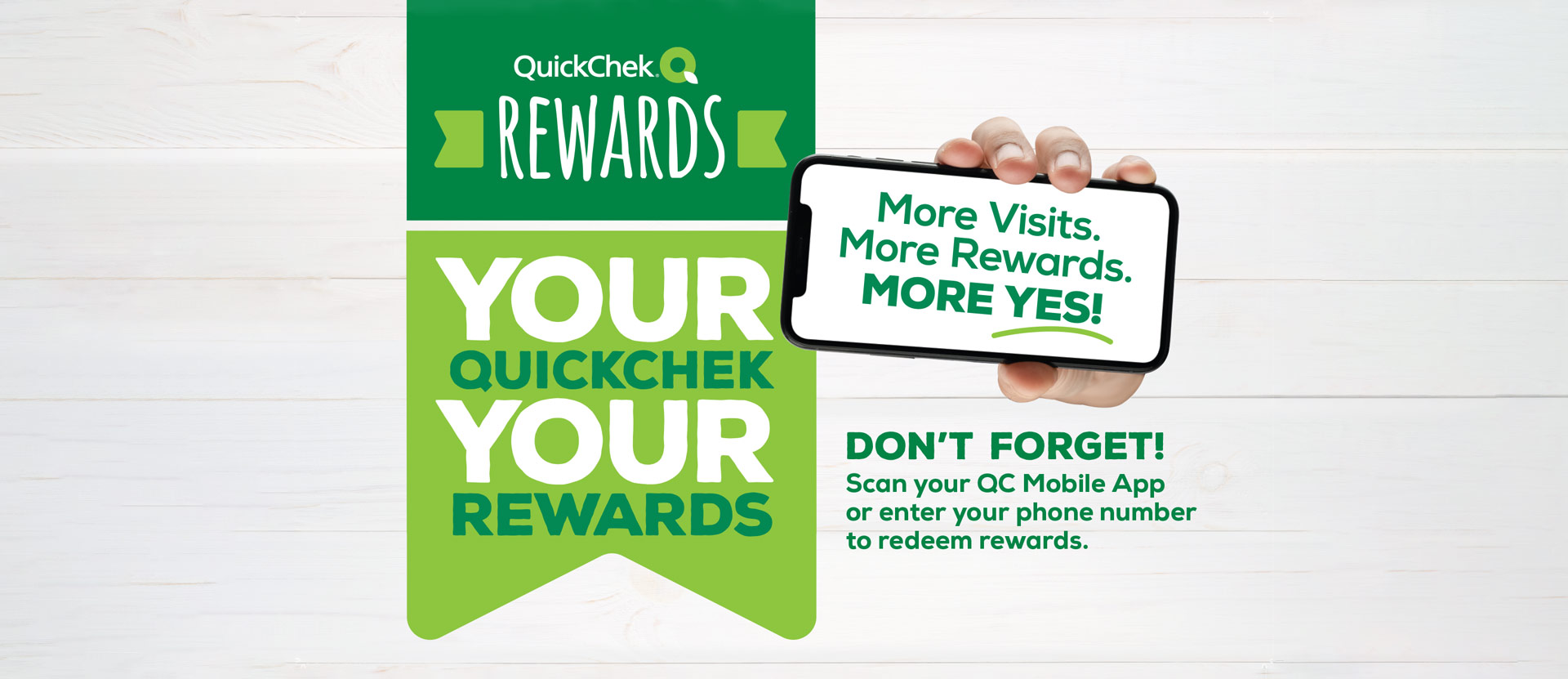 Mobile App Advertisement for QuickChek