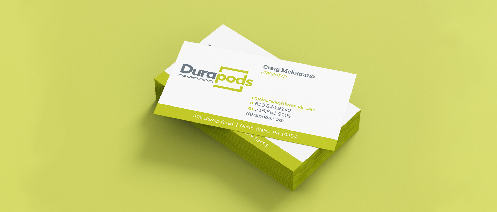 Brand Collateral for Durapods