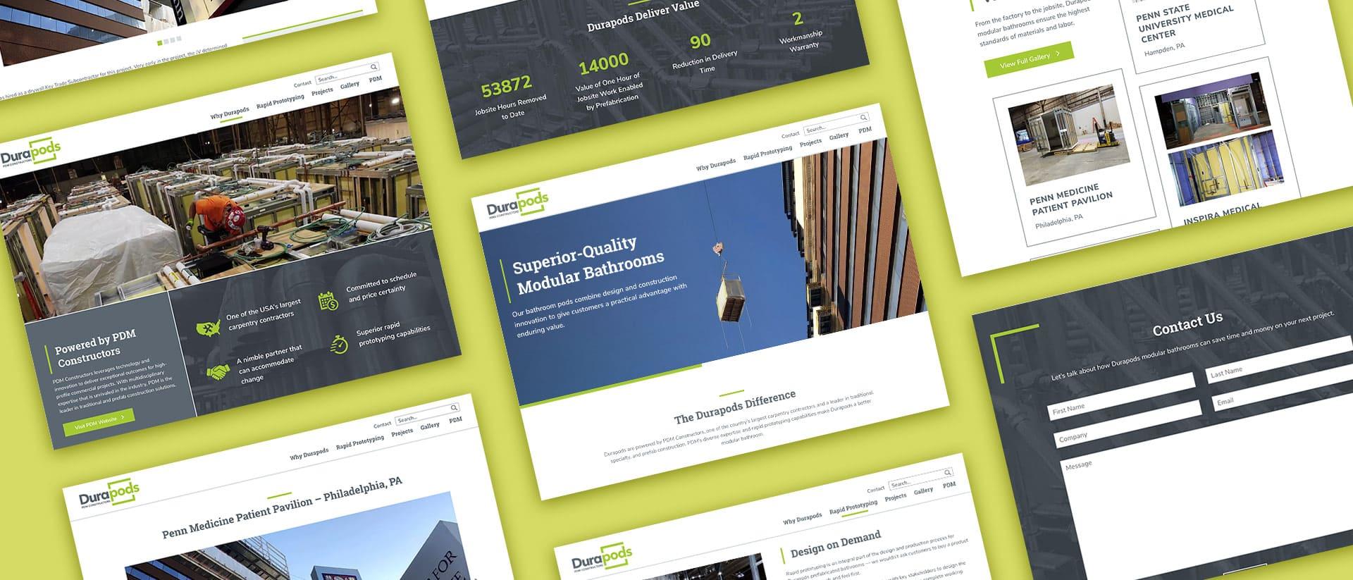 Web Design for Durapods