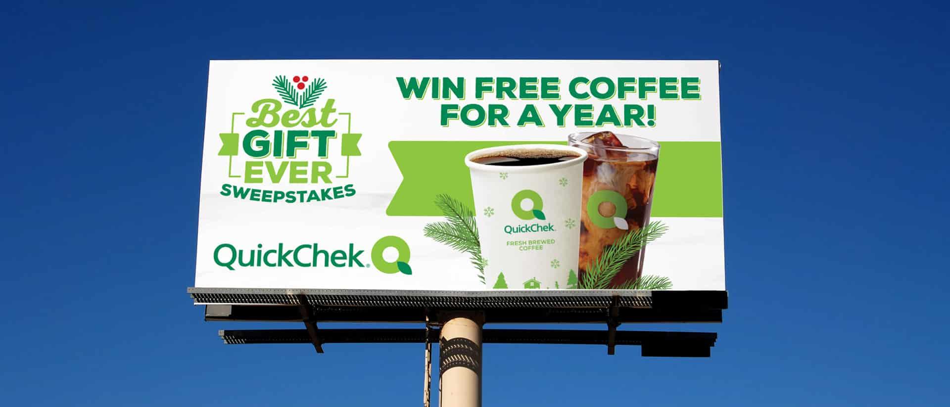 Outdoor Advertising Fresh Convenience QuickChek