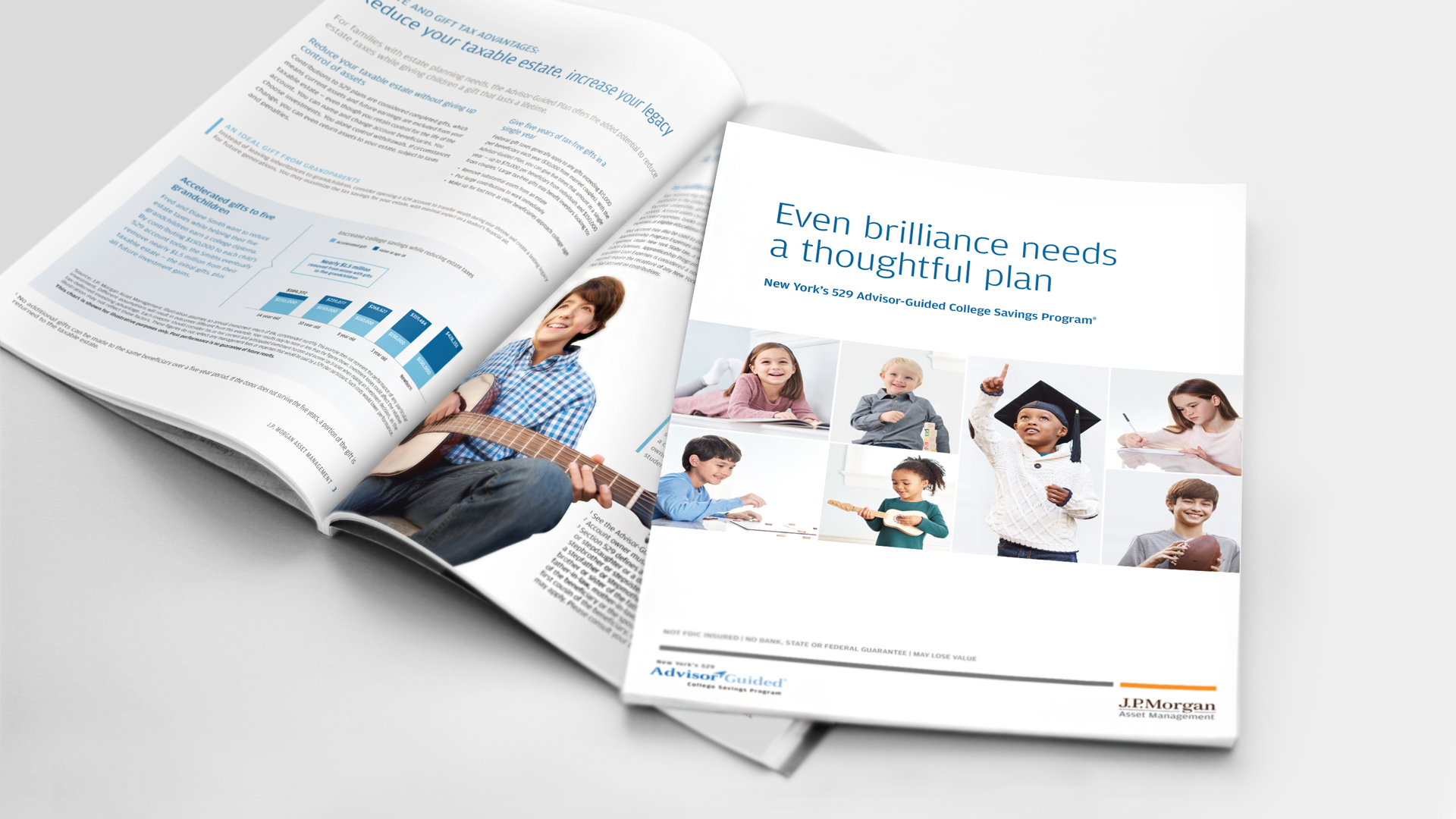 JP Morgan 529 Day Brochure Design