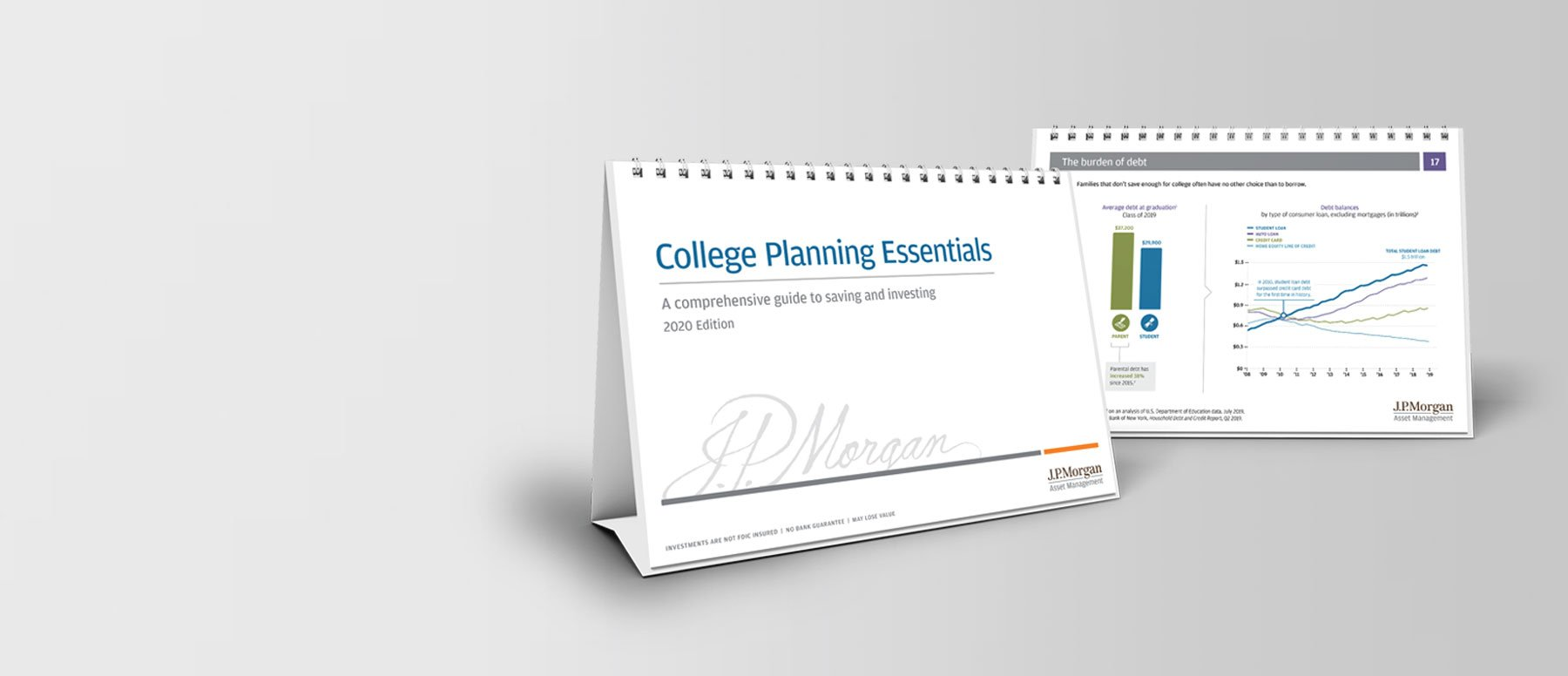 Marketing Collateral for JP Morgan Asset Management