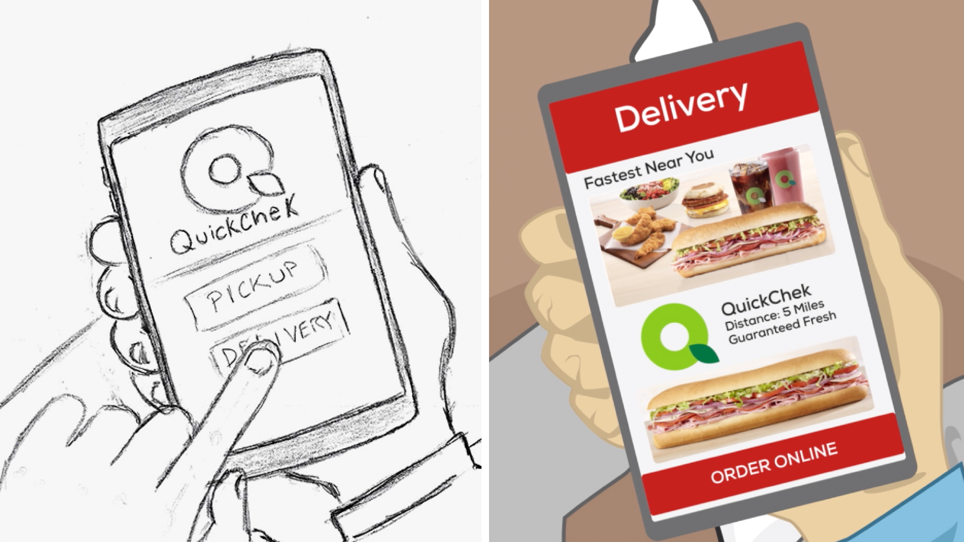 Creative Strategy for QuickChek Delivery