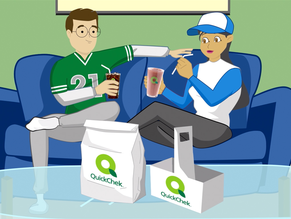 Video Production for QuickChek Delivery