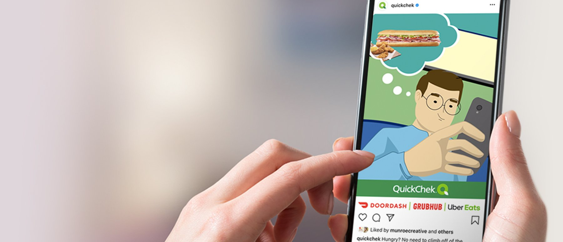 Digital Marketing Campaign for QuickChek Delivery
